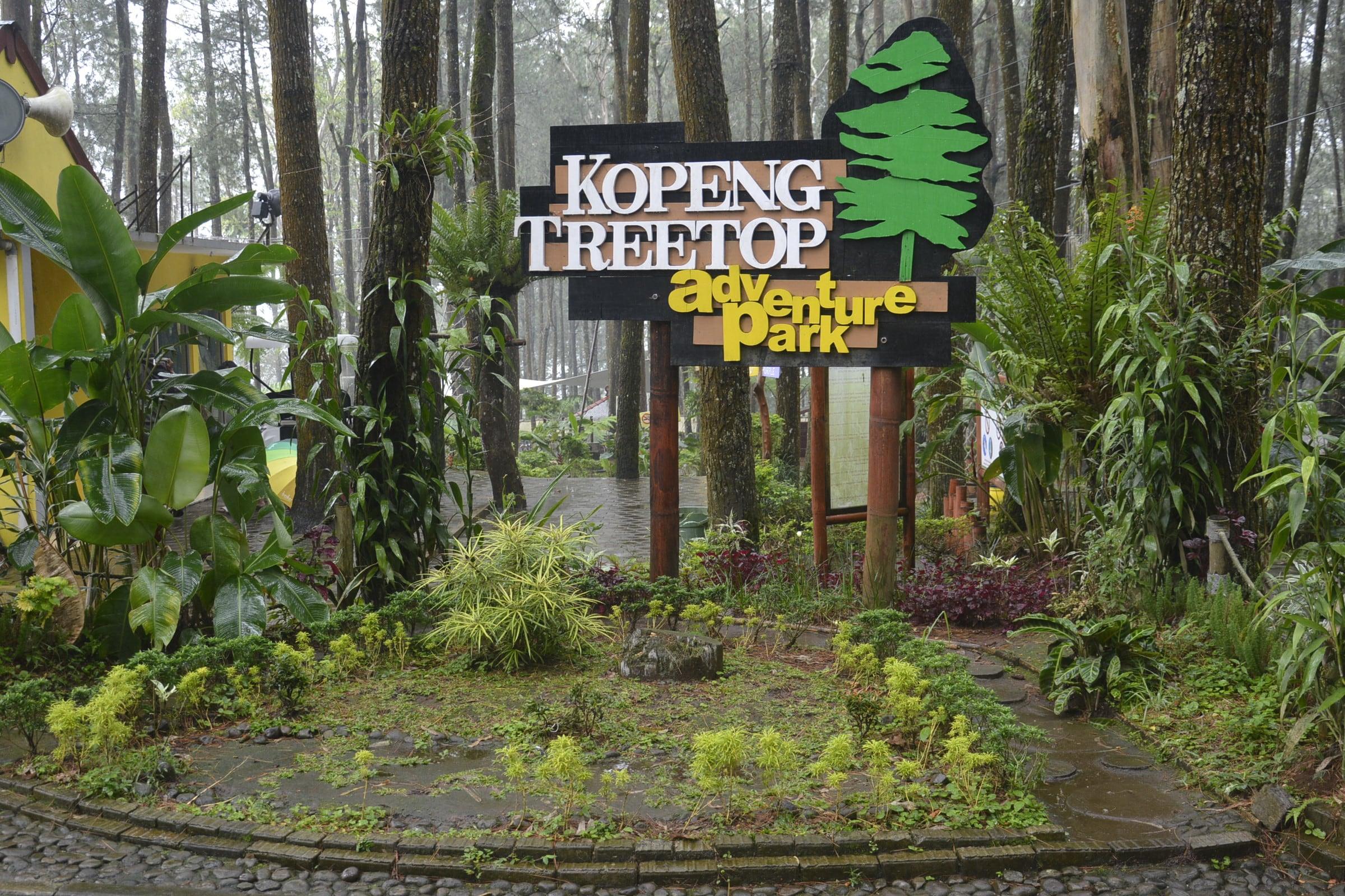 Kopeng Treetop Adventure Park  TAMAN NASIONAL GUNUNG MERBABU