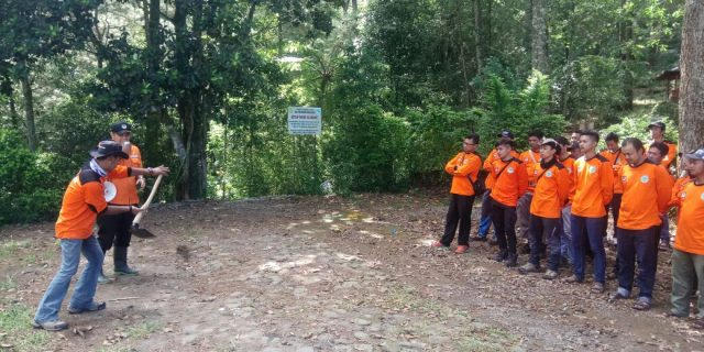 Masyarakat Peduli Api Garuda Balai TN Gunung Merbabu