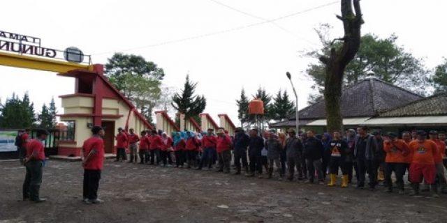 Peringatan HPSN di TN Gunung Merbabu
